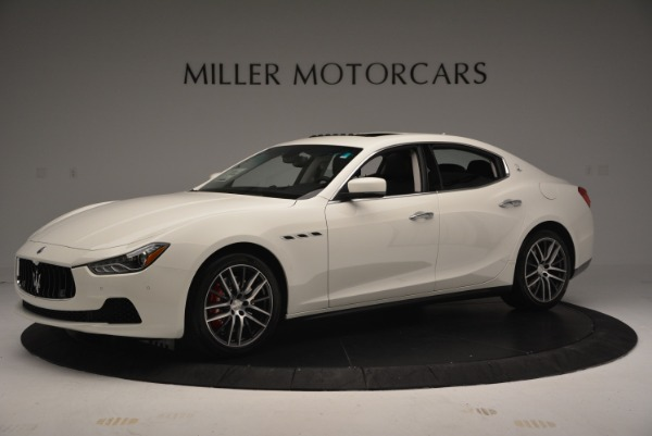 Used 2016 Maserati Ghibli S Q4  EX-LOANER for sale Sold at Maserati of Greenwich in Greenwich CT 06830 2