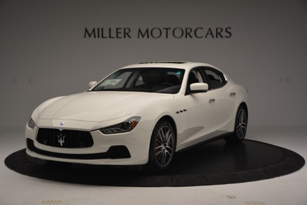 Used 2016 Maserati Ghibli S Q4  EX-LOANER for sale Sold at Maserati of Greenwich in Greenwich CT 06830 1