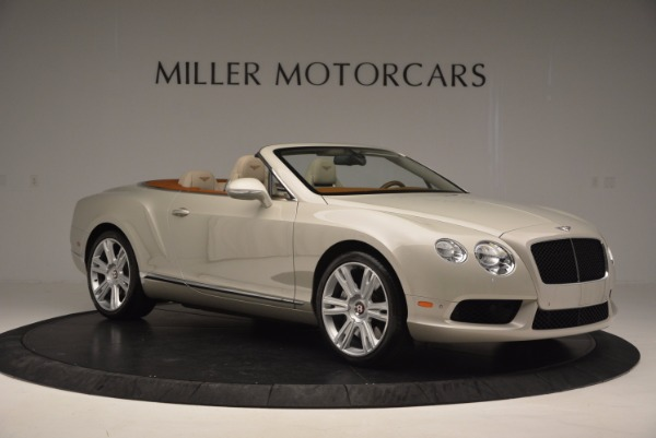 Used 2013 Bentley Continental GTC V8 for sale Sold at Maserati of Greenwich in Greenwich CT 06830 10