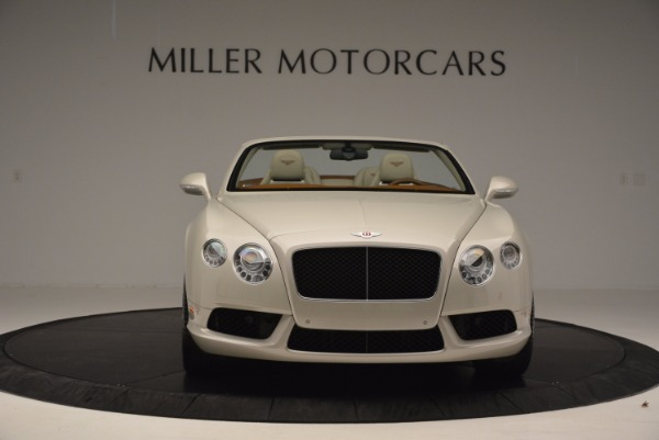 Used 2013 Bentley Continental GTC V8 for sale Sold at Maserati of Greenwich in Greenwich CT 06830 12