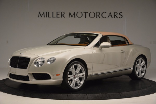 Used 2013 Bentley Continental GTC V8 for sale Sold at Maserati of Greenwich in Greenwich CT 06830 15