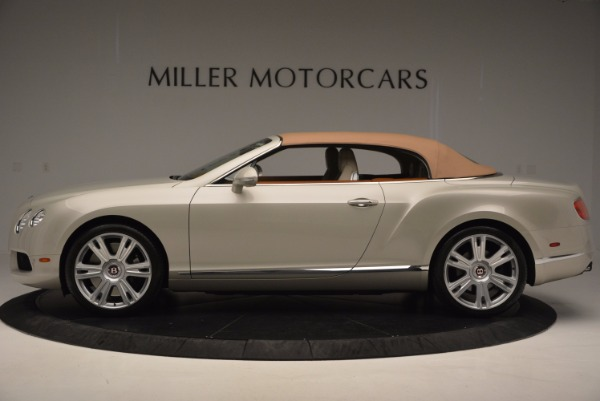 Used 2013 Bentley Continental GTC V8 for sale Sold at Maserati of Greenwich in Greenwich CT 06830 16