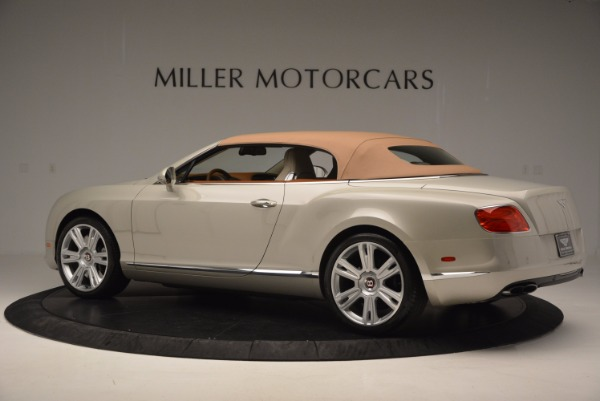 Used 2013 Bentley Continental GTC V8 for sale Sold at Maserati of Greenwich in Greenwich CT 06830 17