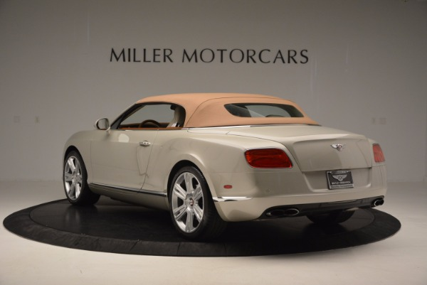 Used 2013 Bentley Continental GTC V8 for sale Sold at Maserati of Greenwich in Greenwich CT 06830 18