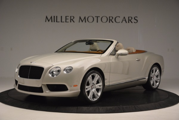 Used 2013 Bentley Continental GTC V8 for sale Sold at Maserati of Greenwich in Greenwich CT 06830 2