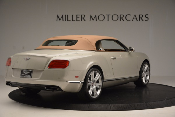 Used 2013 Bentley Continental GTC V8 for sale Sold at Maserati of Greenwich in Greenwich CT 06830 20