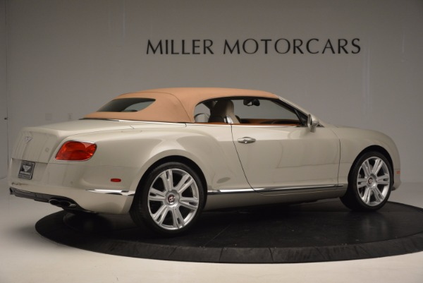 Used 2013 Bentley Continental GTC V8 for sale Sold at Maserati of Greenwich in Greenwich CT 06830 21
