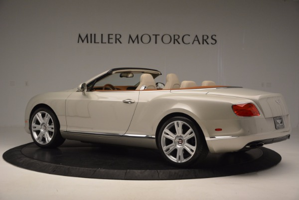 Used 2013 Bentley Continental GTC V8 for sale Sold at Maserati of Greenwich in Greenwich CT 06830 4