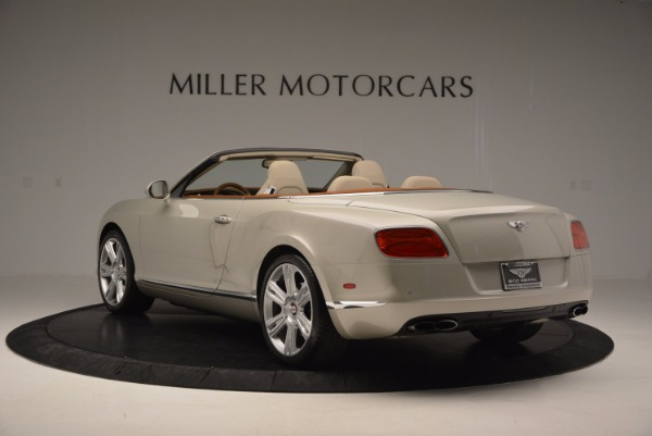 Used 2013 Bentley Continental GTC V8 for sale Sold at Maserati of Greenwich in Greenwich CT 06830 5