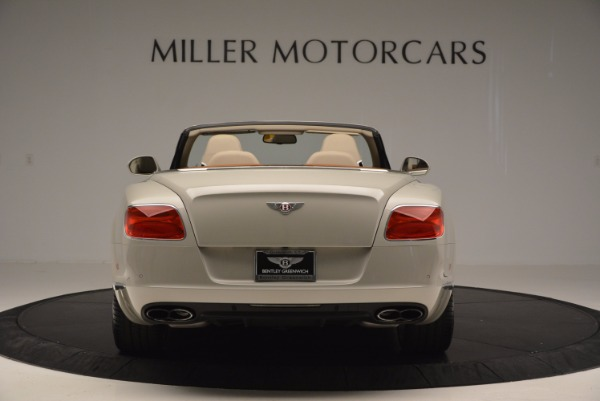 Used 2013 Bentley Continental GTC V8 for sale Sold at Maserati of Greenwich in Greenwich CT 06830 6
