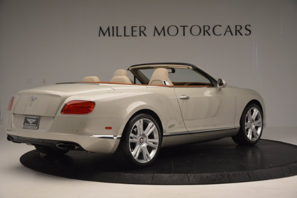 Used 2013 Bentley Continental GTC V8 for sale Sold at Maserati of Greenwich in Greenwich CT 06830 8