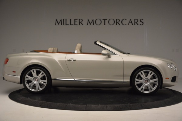 Used 2013 Bentley Continental GTC V8 for sale Sold at Maserati of Greenwich in Greenwich CT 06830 9