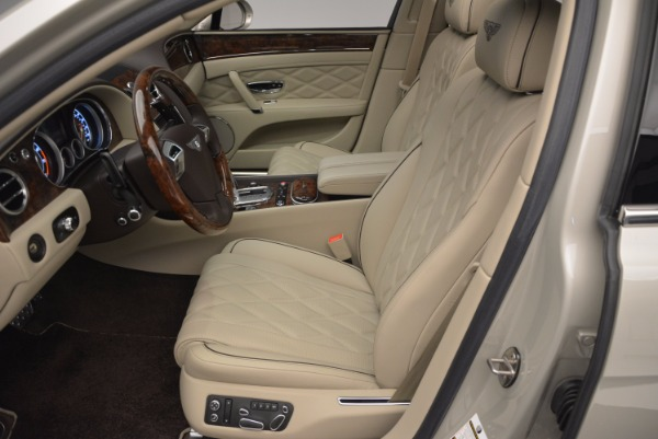 Used 2015 Bentley Flying Spur W12 for sale Sold at Maserati of Greenwich in Greenwich CT 06830 24