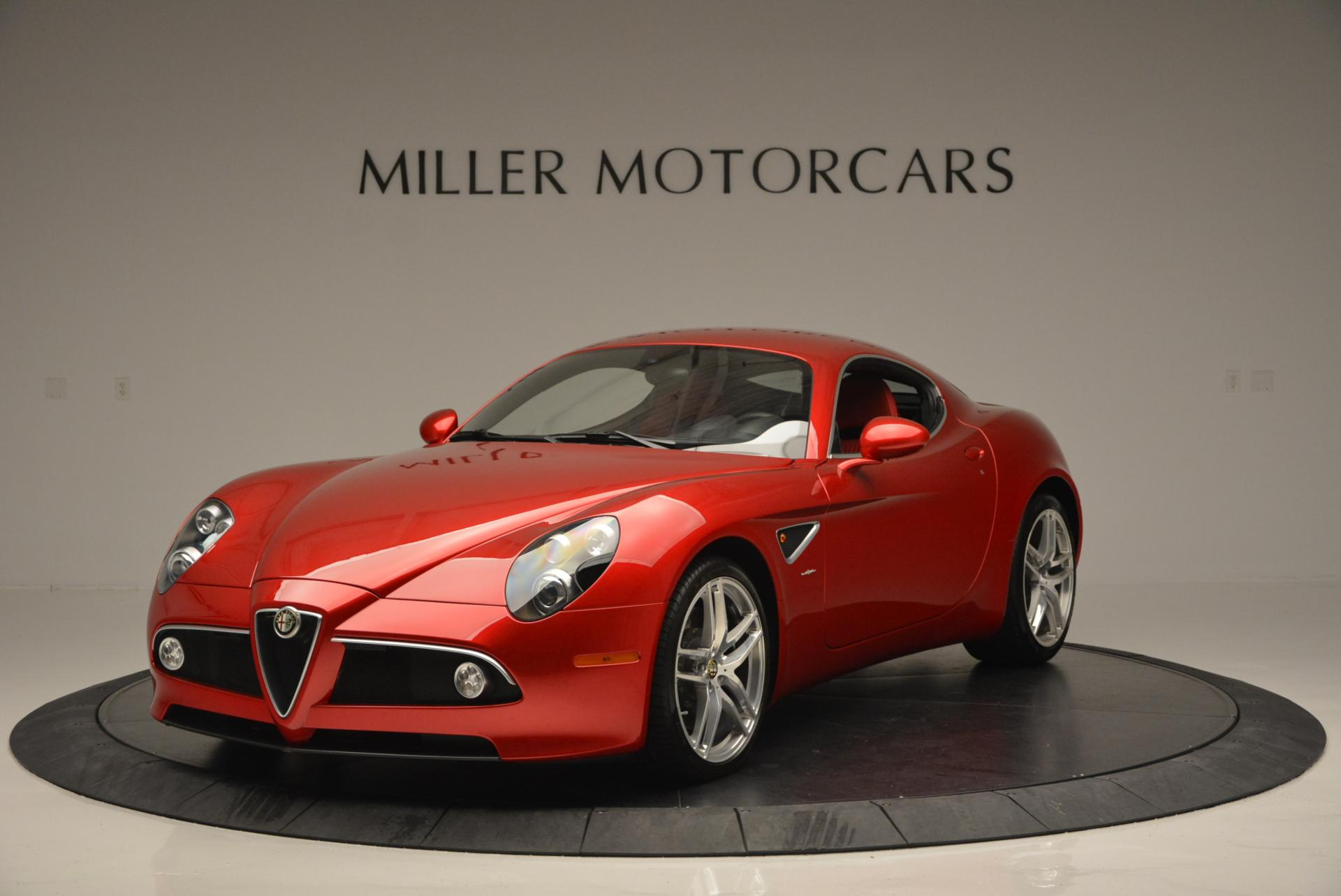 Used 2008 Alfa Romeo 8C for sale Sold at Maserati of Greenwich in Greenwich CT 06830 1