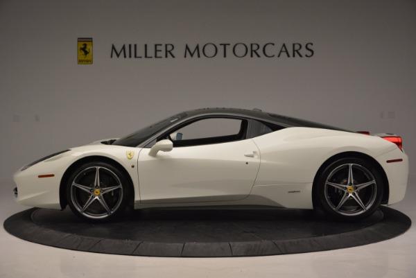 Used 2012 Ferrari 458 Italia for sale Sold at Maserati of Greenwich in Greenwich CT 06830 3
