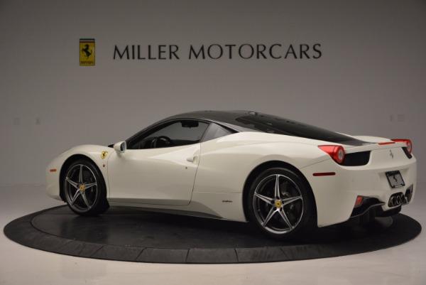 Used 2012 Ferrari 458 Italia for sale Sold at Maserati of Greenwich in Greenwich CT 06830 4
