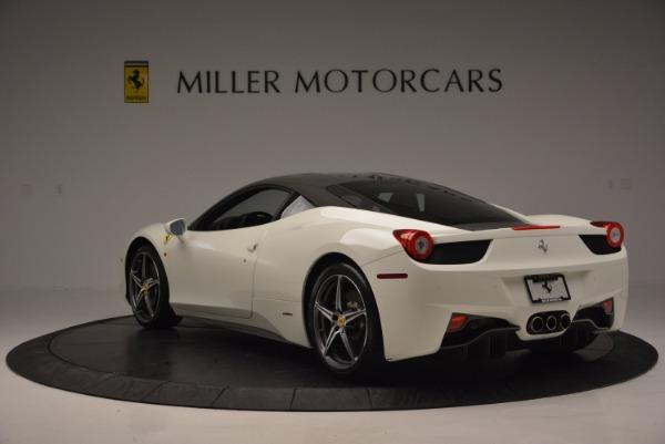 Used 2012 Ferrari 458 Italia for sale Sold at Maserati of Greenwich in Greenwich CT 06830 5