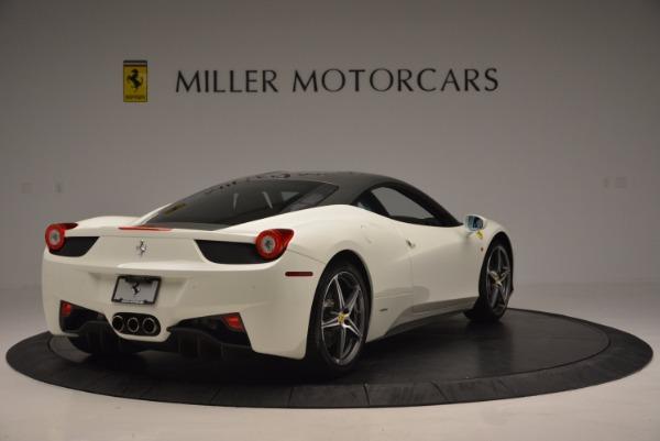 Used 2012 Ferrari 458 Italia for sale Sold at Maserati of Greenwich in Greenwich CT 06830 7