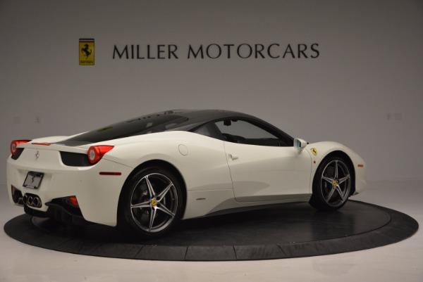 Used 2012 Ferrari 458 Italia for sale Sold at Maserati of Greenwich in Greenwich CT 06830 8