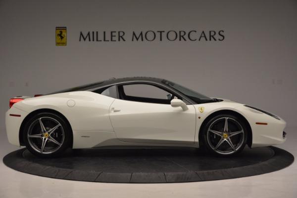 Used 2012 Ferrari 458 Italia for sale Sold at Maserati of Greenwich in Greenwich CT 06830 9