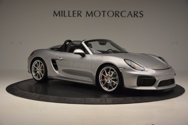 Used 2016 Porsche Boxster Spyder for sale Sold at Maserati of Greenwich in Greenwich CT 06830 10