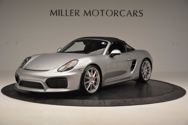 Used 2016 Porsche Boxster Spyder for sale Sold at Maserati of Greenwich in Greenwich CT 06830 13