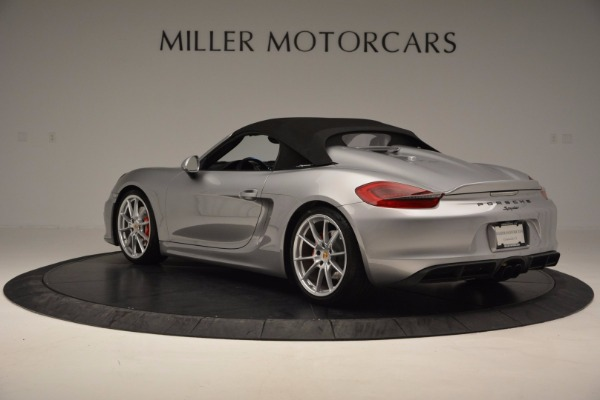 Used 2016 Porsche Boxster Spyder for sale Sold at Maserati of Greenwich in Greenwich CT 06830 15