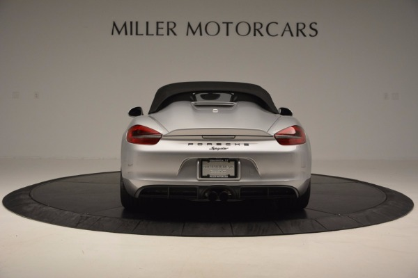 Used 2016 Porsche Boxster Spyder for sale Sold at Maserati of Greenwich in Greenwich CT 06830 16