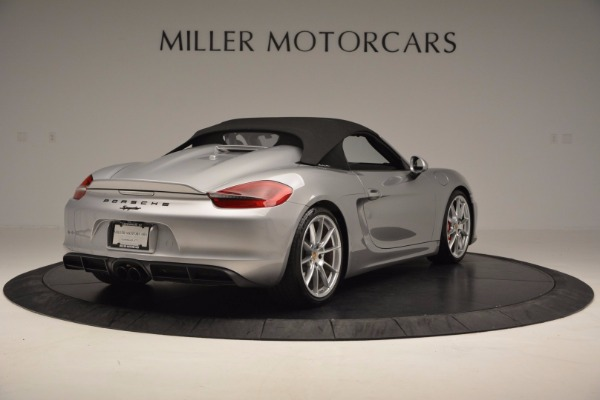 Used 2016 Porsche Boxster Spyder for sale Sold at Maserati of Greenwich in Greenwich CT 06830 17