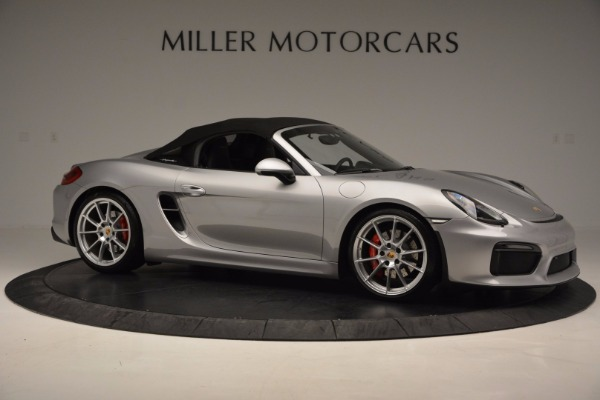 Used 2016 Porsche Boxster Spyder for sale Sold at Maserati of Greenwich in Greenwich CT 06830 19