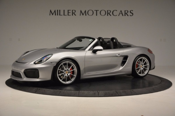 Used 2016 Porsche Boxster Spyder for sale Sold at Maserati of Greenwich in Greenwich CT 06830 2