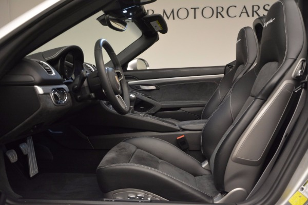 Used 2016 Porsche Boxster Spyder for sale Sold at Maserati of Greenwich in Greenwich CT 06830 21