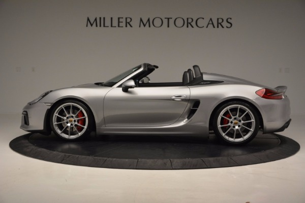 Used 2016 Porsche Boxster Spyder for sale Sold at Maserati of Greenwich in Greenwich CT 06830 3