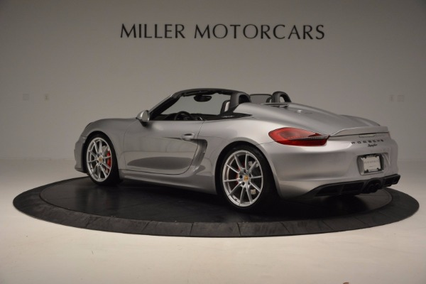 Used 2016 Porsche Boxster Spyder for sale Sold at Maserati of Greenwich in Greenwich CT 06830 4