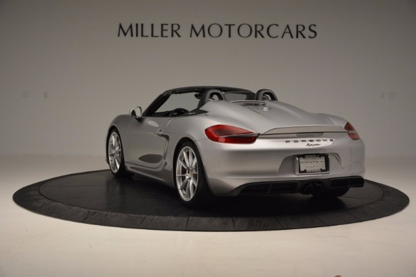 Used 2016 Porsche Boxster Spyder for sale Sold at Maserati of Greenwich in Greenwich CT 06830 5