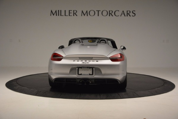 Used 2016 Porsche Boxster Spyder for sale Sold at Maserati of Greenwich in Greenwich CT 06830 6