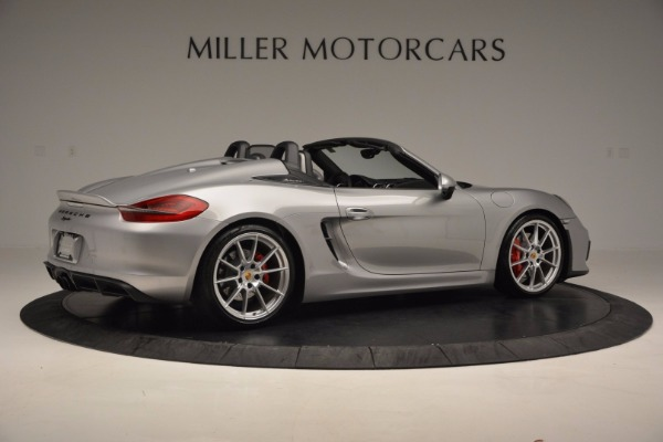 Used 2016 Porsche Boxster Spyder for sale Sold at Maserati of Greenwich in Greenwich CT 06830 8