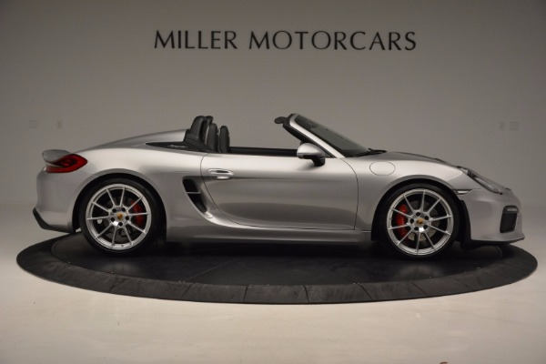 Used 2016 Porsche Boxster Spyder for sale Sold at Maserati of Greenwich in Greenwich CT 06830 9