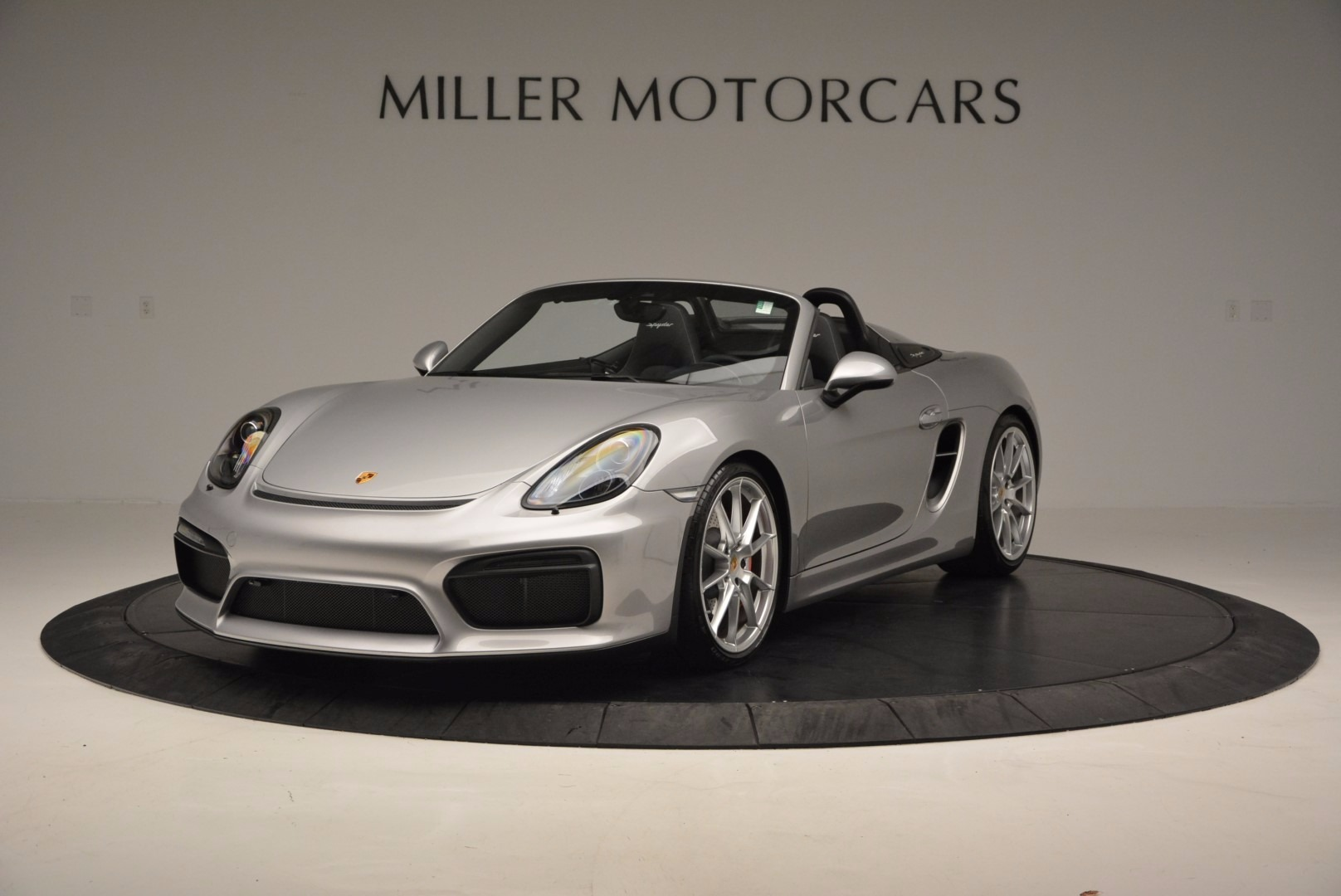 Used 2016 Porsche Boxster Spyder for sale Sold at Maserati of Greenwich in Greenwich CT 06830 1