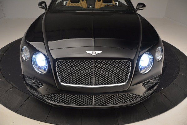 Used 2016 Bentley Continental GT Speed Convertible for sale Sold at Maserati of Greenwich in Greenwich CT 06830 22