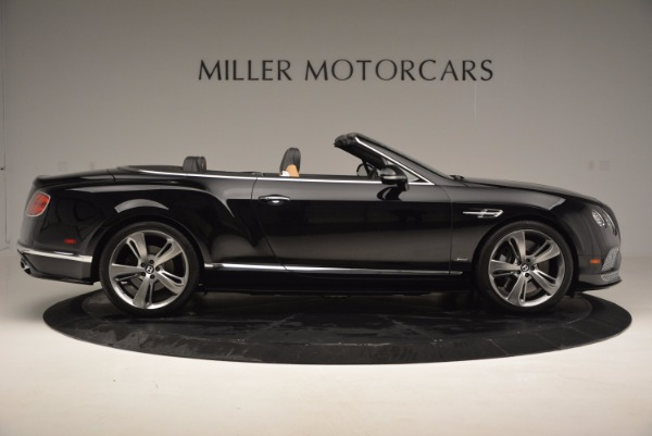 Used 2016 Bentley Continental GT Speed Convertible for sale Sold at Maserati of Greenwich in Greenwich CT 06830 9