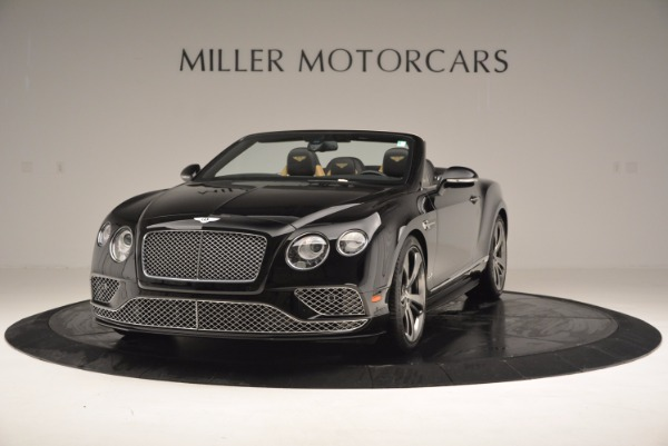 Used 2016 Bentley Continental GT Speed Convertible for sale Sold at Maserati of Greenwich in Greenwich CT 06830 1