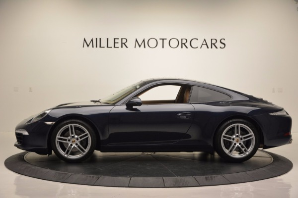 Used 2014 Porsche 911 Carrera for sale Sold at Maserati of Greenwich in Greenwich CT 06830 3