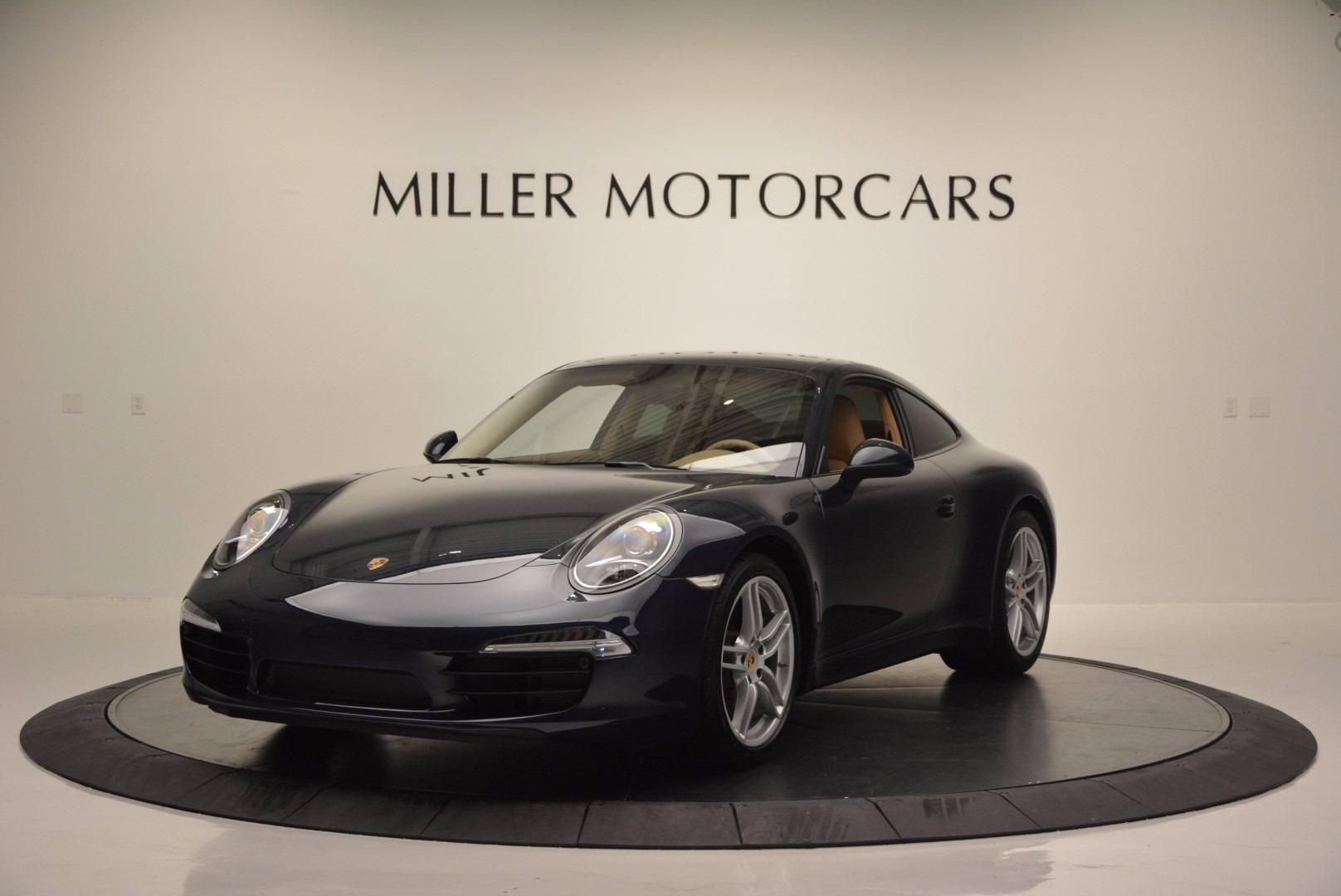 Used 2014 Porsche 911 Carrera for sale Sold at Maserati of Greenwich in Greenwich CT 06830 1