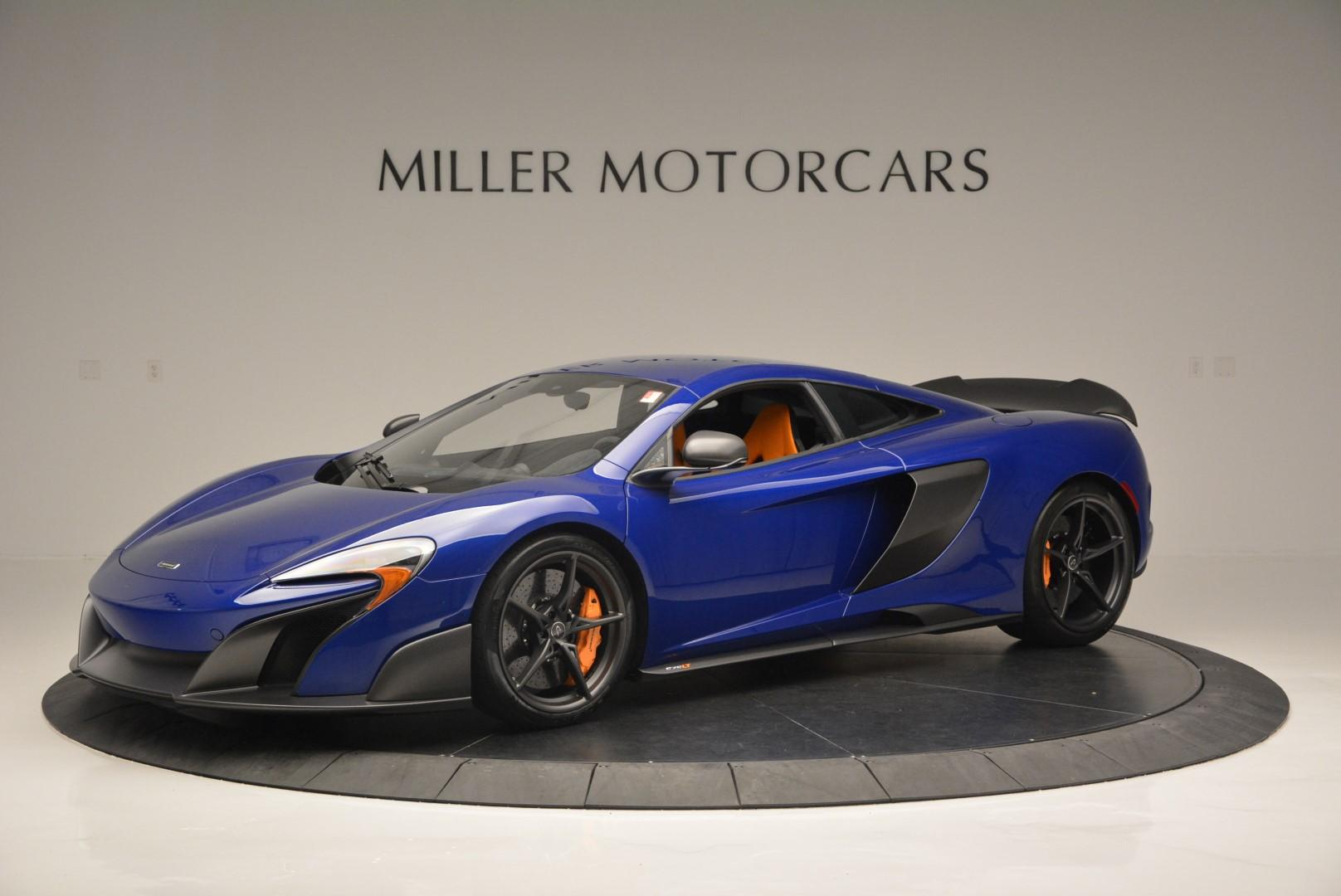Used 2016 McLaren 675LT Coupe for sale $235,900 at Maserati of Greenwich in Greenwich CT 06830 1
