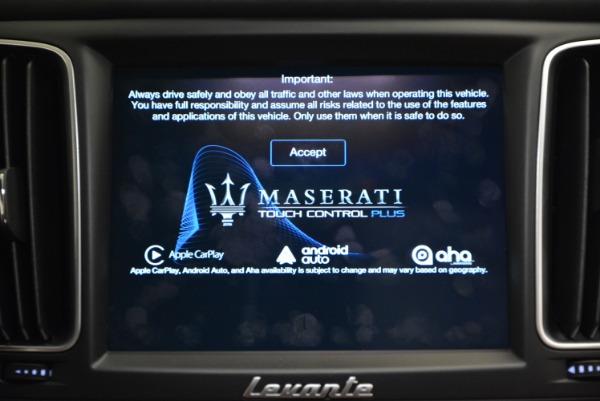 New 2017 Maserati Levante S for sale Sold at Maserati of Greenwich in Greenwich CT 06830 26