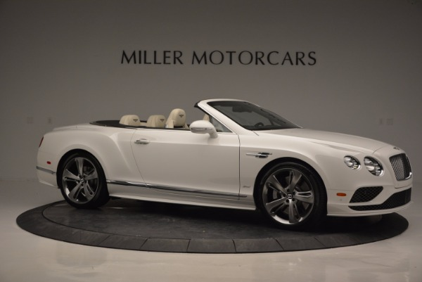 New 2017 Bentley Continental GT Speed Convertible for sale Sold at Maserati of Greenwich in Greenwich CT 06830 10