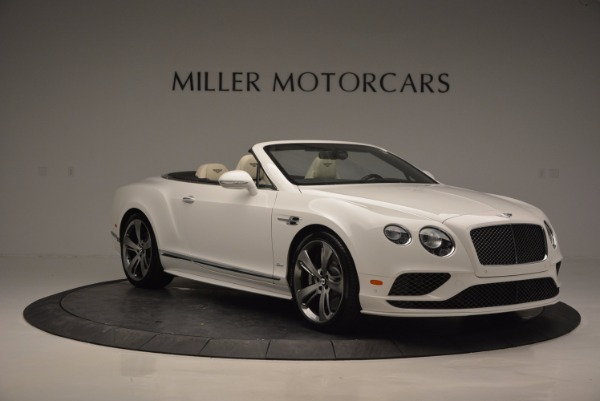 New 2017 Bentley Continental GT Speed Convertible for sale Sold at Maserati of Greenwich in Greenwich CT 06830 11