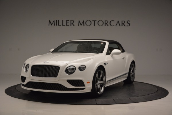 New 2017 Bentley Continental GT Speed Convertible for sale Sold at Maserati of Greenwich in Greenwich CT 06830 13