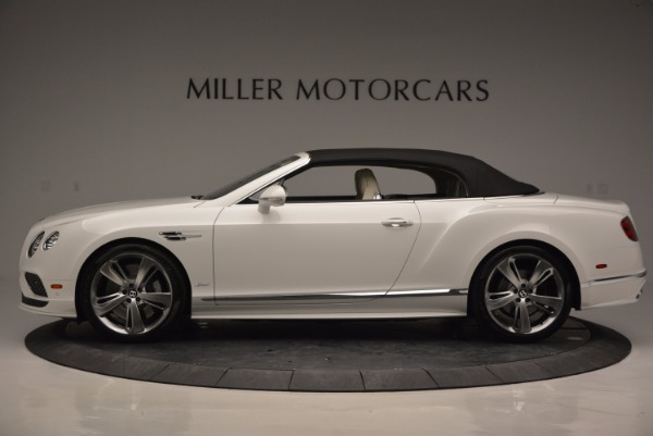 New 2017 Bentley Continental GT Speed Convertible for sale Sold at Maserati of Greenwich in Greenwich CT 06830 15